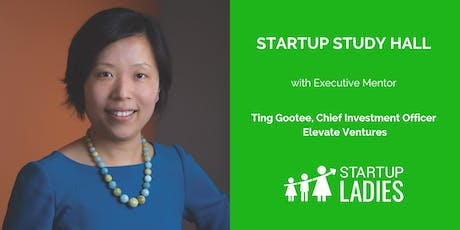 Startup Study Hall with Ting Gootee tickets
