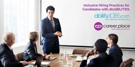 Inclusive Hiring Practices for Candidates with disABILITIES tickets
