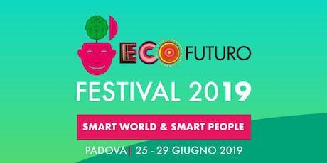 Ospitalità ad EcoFuturo 2019 per attivisti FridaysforFuture biglietti