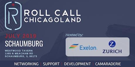 Roll Call! A Veteran Networking Event in Schaumburg tickets