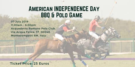 American Independence Day BBQ & Polo Game biglietti