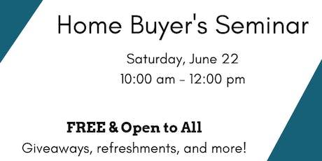 FREE Home Buyer's Seminar! tickets