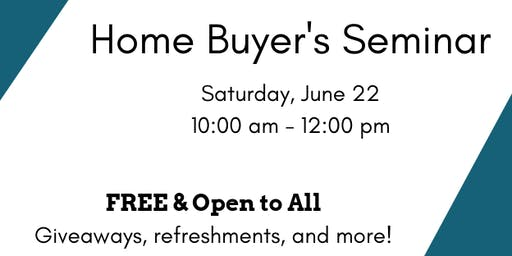 FREE Home Buyer's Seminar!