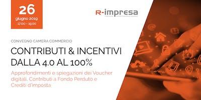 Contributi e incentivi: dalla 4.0 al 100%