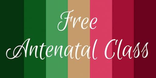FREE Antenatal Class (Venue tbc)