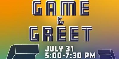 July Game & Greet