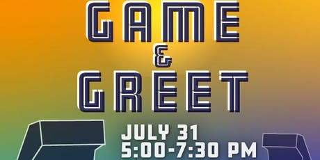 July Game & Greet tickets