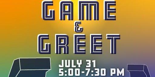 July Game & Greet