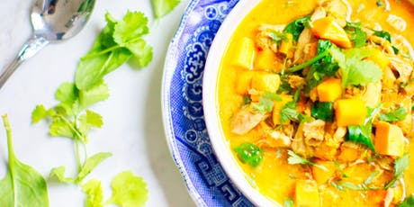 Great Cook: Plant Based Creamy Coconut Curry  tickets