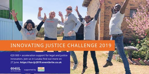 Launch of the Innovating Justice Challenge in Lusaka