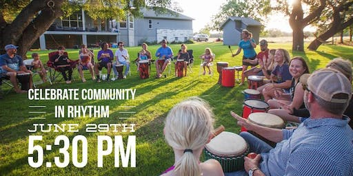 Drum Circle & Potluck Anniversary Celebration!