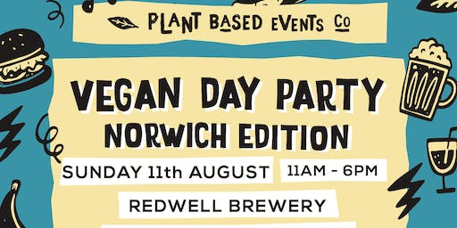 Vegan Day Party - Norwich