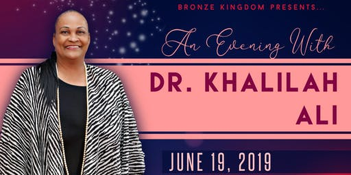 An Evening With Dr. Khalilah Ali