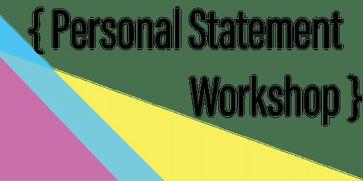 Personal Statement Writing Workshop