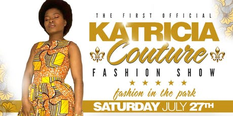 Katricia Couture Fashion Show tickets
