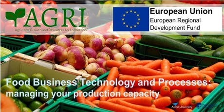 Food Business - Technology and Processes: managing your production capacity tickets
