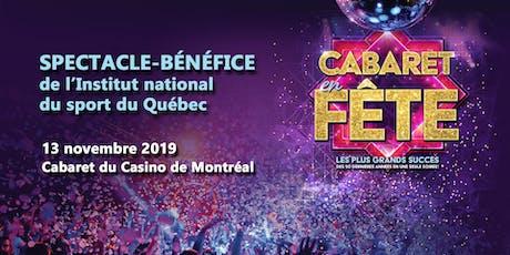 4ème spectacle-bénéfice de l'INS Québec  billets