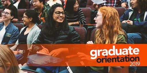 Graduate Orientation 2019