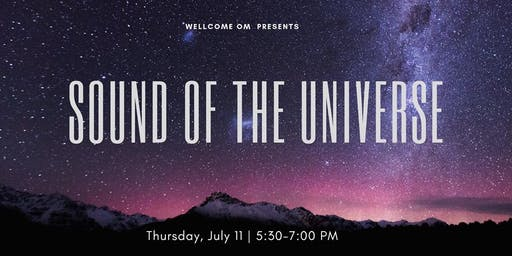 Sound of the Universe- An Immersive Healing Experience