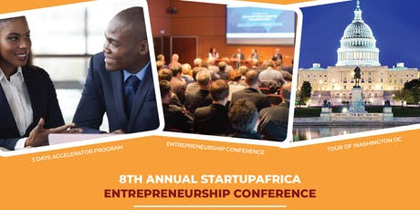 2019 StartUpAfrica Entrepreneurship Conference tickets
