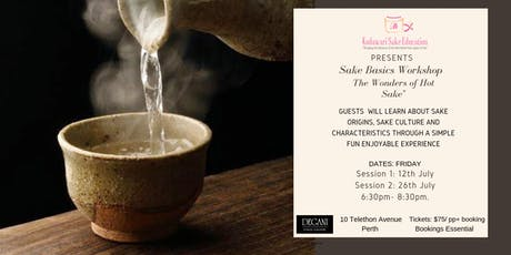 "Sake Basic Workshops"" The Wonders of Hot Sake"" tickets"