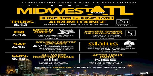 MIDWEST INVADES ATLANTA |HOTTEST WEEKEND OF THE SUMMER!! | JUNE 13TH-16TH