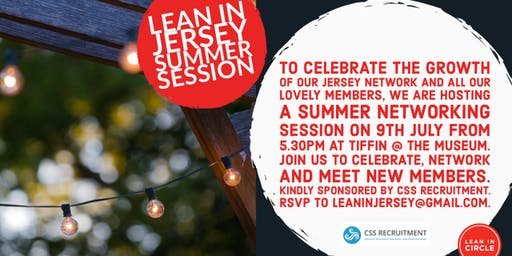 Lean In Networking Summer Drinks