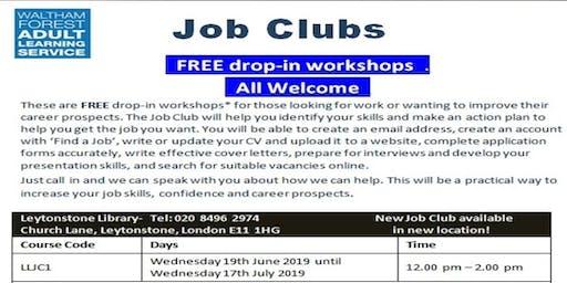 Job Club @ Leytonstone Library