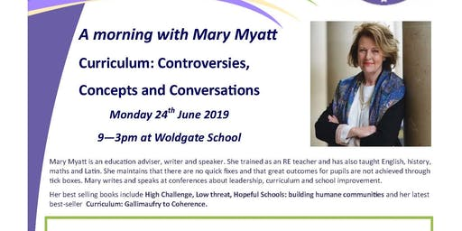 A day with Mary Myatt