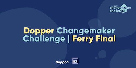 Doppper Changemaker Challenge Final tickets