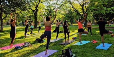 Park Yoga! Weekly in Trinity Bellwoods with Jayla