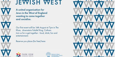 Jewish West - Eat, Drink and be Entertained: launch event tickets