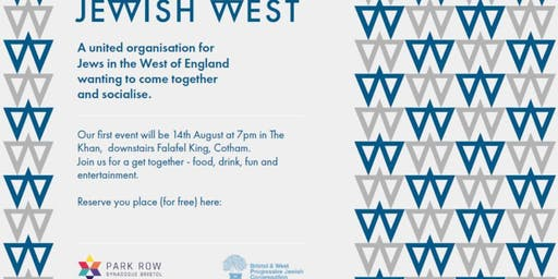 Jewish West - Eat, Drink and be Entertained: launch event
