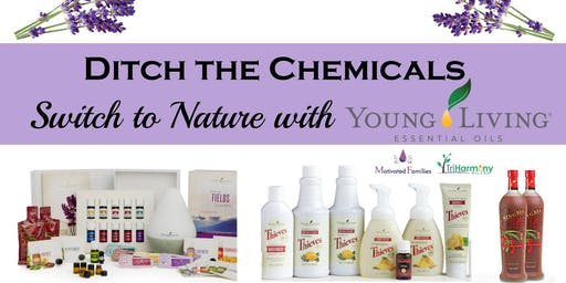Intro. to Essential Oils & Chemical Free Lifestyle at Floatopia Float Spa ~ Salt Cave