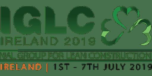 IGLC 2019 (TCD Dinner)