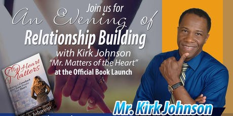 An Evening of Relationship Building & Official Book Launch tickets