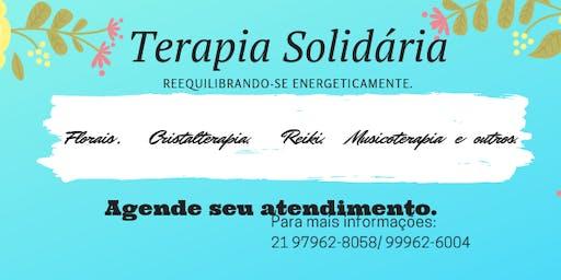 Terapia Solidária reequilibrando-se energeticamente.