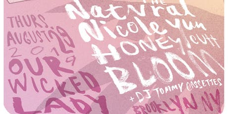 Kanine Records Rooftop Show: The Natvral, Nicole Yun, Honey Cutt, Bloom tickets