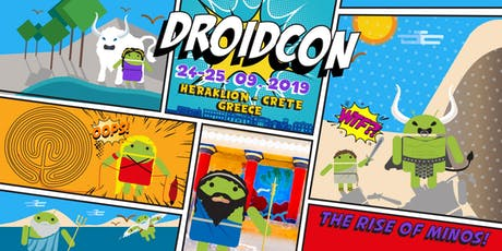 .droidconGreece: The Rise of Minos tickets