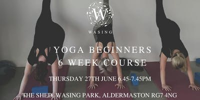 June/July Yoga Beginners Course