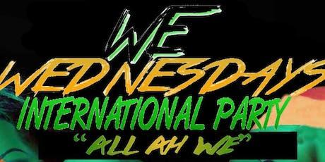 ALL AH WE INTERNATIONAL WEDNESDAYS  tickets