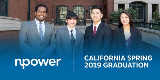 NPower California  Spring 2019 Graduation