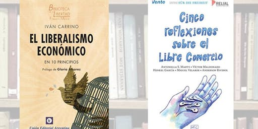 Presentación de libros: IVÁN CARRINO, ANTONELLA MARTY&MIGUEL ANGEL MARTINEZ
