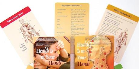 Health Is in Your Hands™ –  Harmonize Body & Mind with Jin Shin Jyutsu tickets
