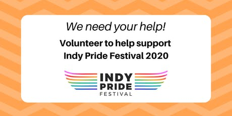 Volunteer to Support Indy Pride Festival 2020! tickets