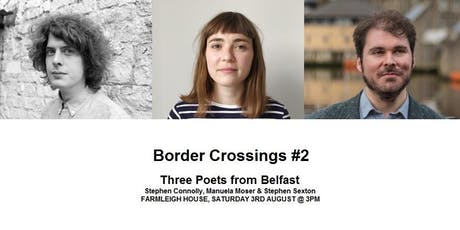 BORDER CROSSINGS #2, Three Poets from Belfast tickets
