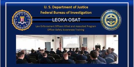 FBI LEOKA Training tickets