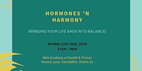 Hormones 'n Harmony tickets