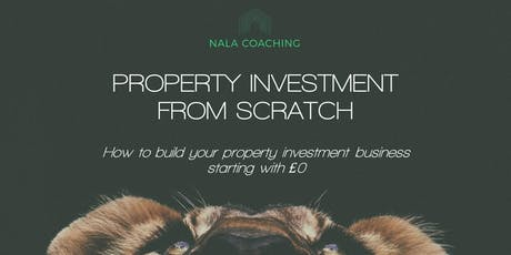 Property Investment From Scratch tickets