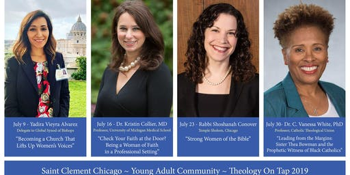 July 23 Theology on Tap 2019- Saint Clement Chicago